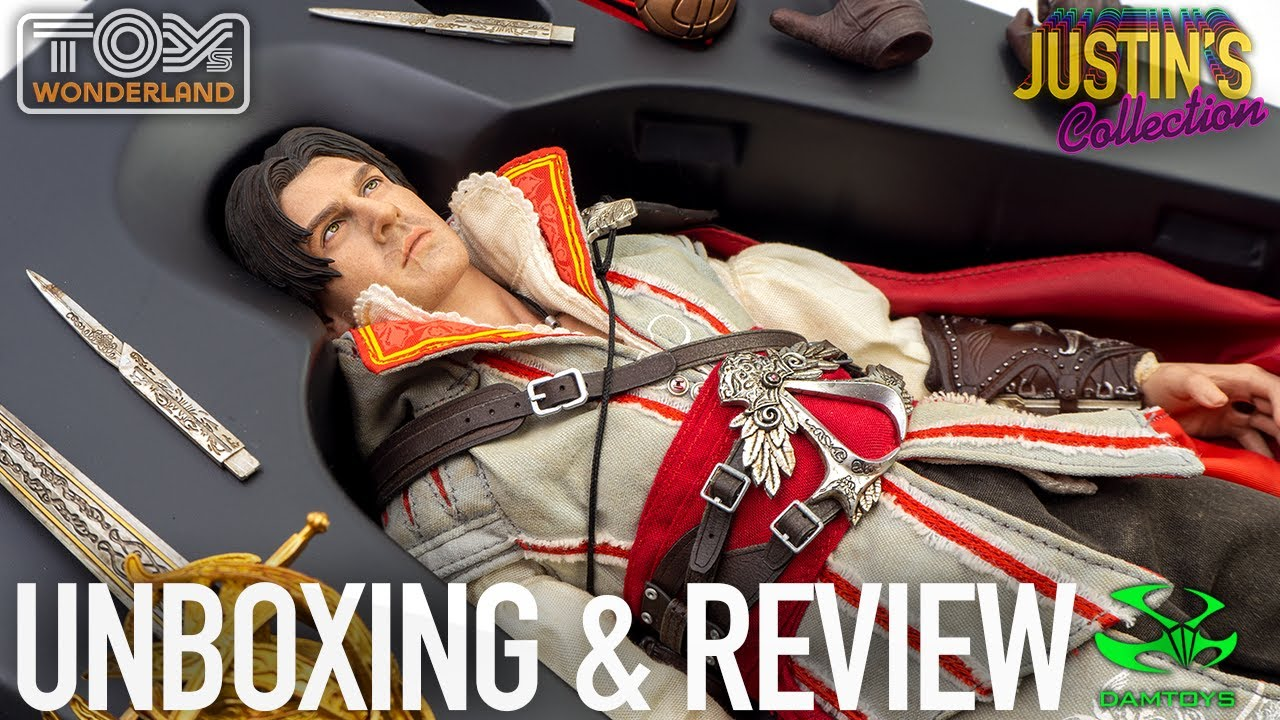 Assassin's Creed 2 Ezio Auditore DamToys 1/6 Scale Figure Unboxing & Review