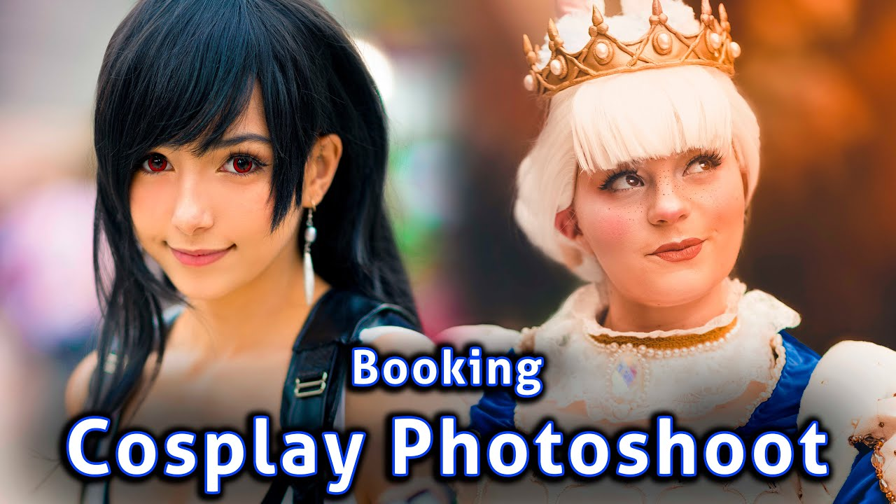 How To Book Your First Cosplay Photoshoot At A Convention