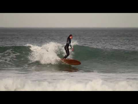 25 seconds of offshore noserides