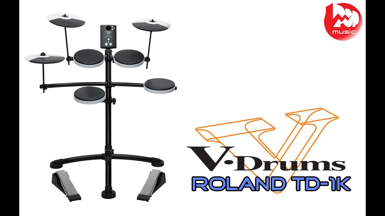 Электронная ударная установка ROLAND HD-3 V-Drums Lite - YouTube