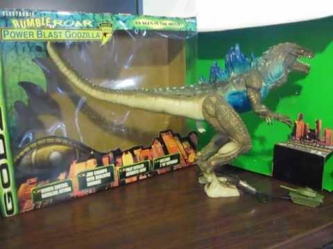 Godzilla 1998 Toy Figure Electronic Rumble Roar Power ...