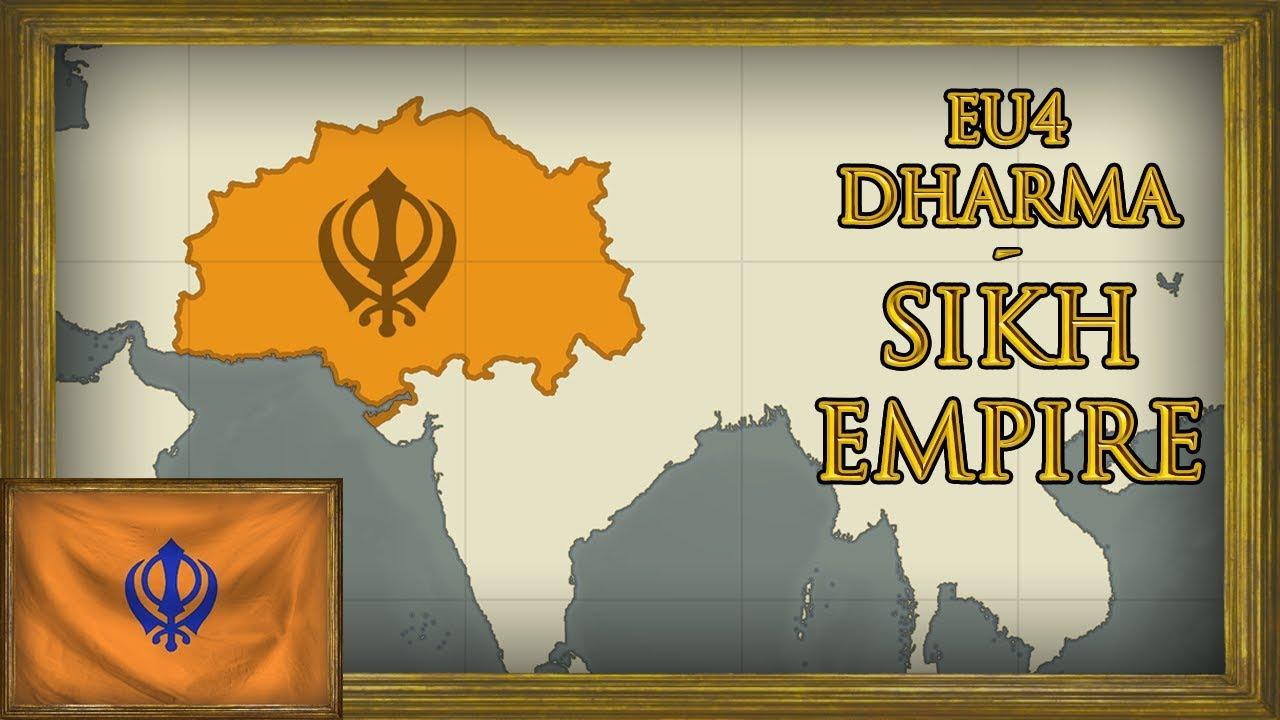 EU4 - Timelapse - Dharma - Sikh Empire of Punjab