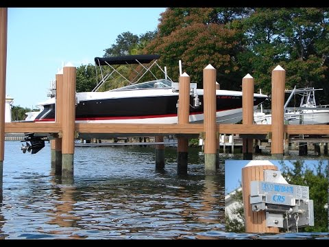 Deco's Concept CRS Beamless Boat Lift