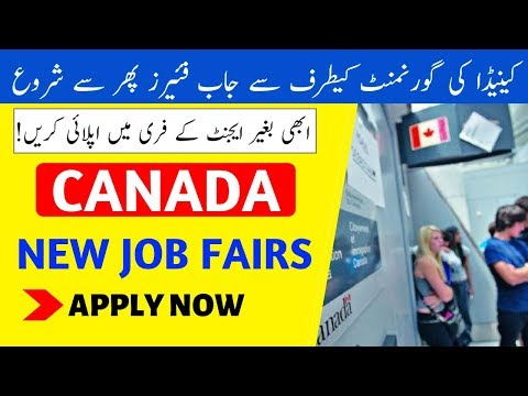 Canada Government Opens Job Fairs - New Brunswick Job Fairs - Apply Free For Jobs