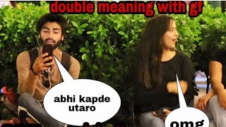 Double meaning video calling prank with gf! part4! Prank in india!
