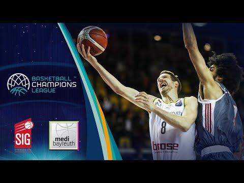 SIG Strasbourg v medi Bayreuth - Full Game - Basketball Champions League