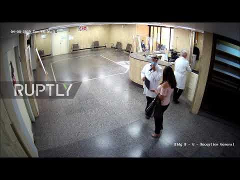 Lebanon: CCTV footage reveals hospital doors blown in by Beirut port blasts