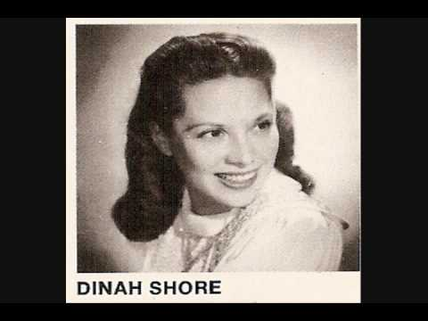 Dinah Shore I'll Be Seeing You