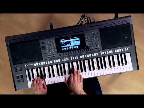 Kraft Music - Yamaha PSR-S770 Arranger Demo with Blake Angelos