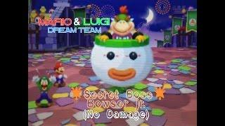 Mario & Luigi - Dream Team [SECRET BOSS] Bowser Jr. (No Damage)