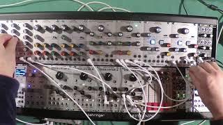 Behringer Arp 2500 Multimode Filter ~ Resonator Module 1047 Test