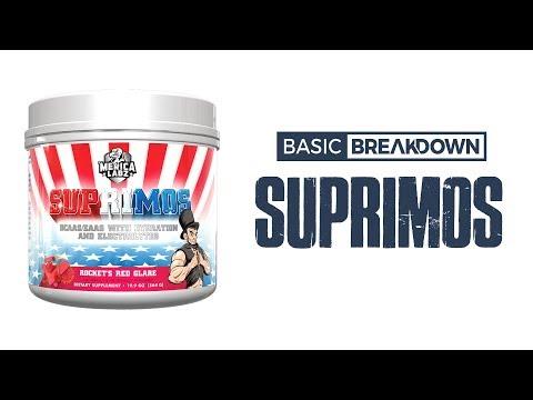Merica Labz Suprimos Amino Acid Supplement Review | Basic Breakdown
