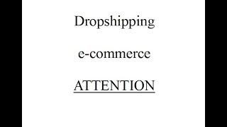 arnaque dropshipping