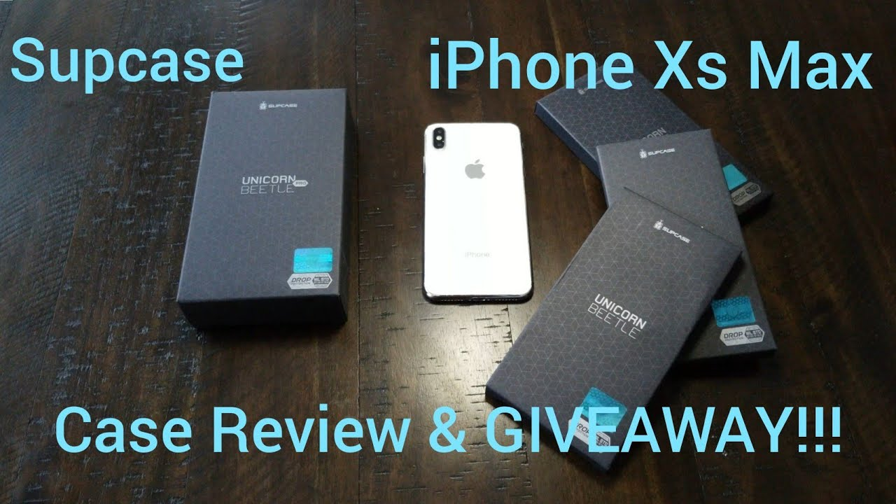 20253f9ee526 iPhone Xs Max Unicorn Beetle Case Review and GIVEAWAY!!! Which one ...