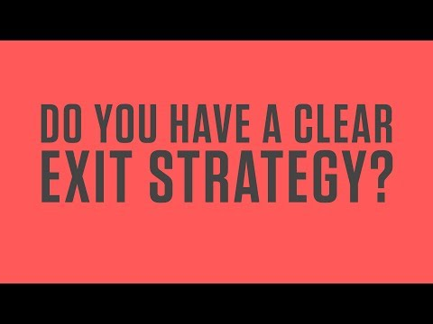 What's your exit strategy? From Tony Robbins' Business Mastery