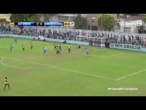 B Metro : DEFENSORES UNIDOS 1 - 0 COMUNICACIONES (El Gol)