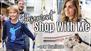 IKEA SHOP WITH ME :: SPEND THE DAY WITH US 2020 :: NEW BASEMENT FURNITURE :: DITL FAMILY VLOG