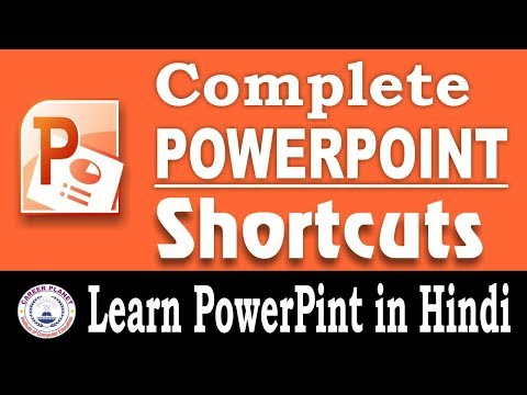 PowerPoint Shortcut Keys|Learn Microsoft PowerPoint keyboard shortcuts in Hindi |computer awareness
