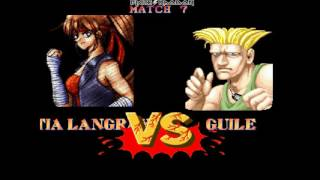 Street Fighter II World Warrior M.U.G.E.N mod Tia Langray Longplay