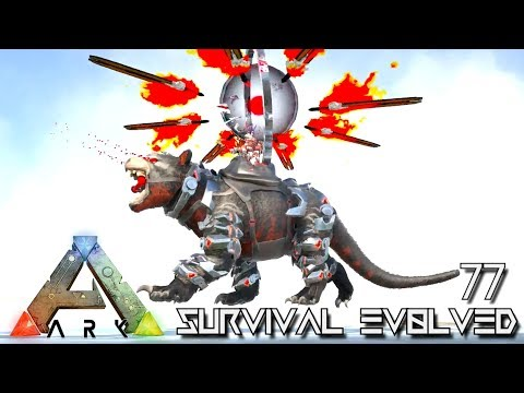 ARK: SURVIVAL EVOLVED - TEK DEVIL PET & ARMED GRIFFIN FOREWORLD MYTH !!! E77 (MOD EXTINCTION CORE)