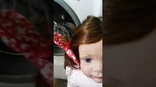 Kaydora doll does the washing Part 13