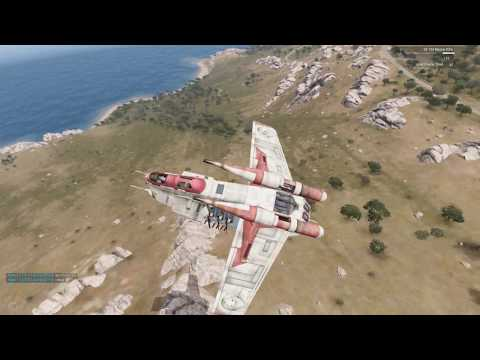 "Arma 3 Star Wars 501st Legion Fun Op ""Close Air Support"""