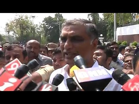 Harish Rao Reaction  KCR Cabinet Expansion - Watch Exclusive