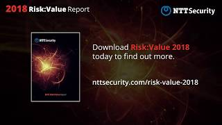 2018 Risk Value Report By NTT Security