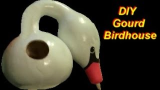 How To Make A Birdhouse Out Of A Gourd