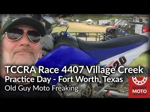 WR250R Texas Cross Country Association Practice Day Village Creek, Fort Worth, TX