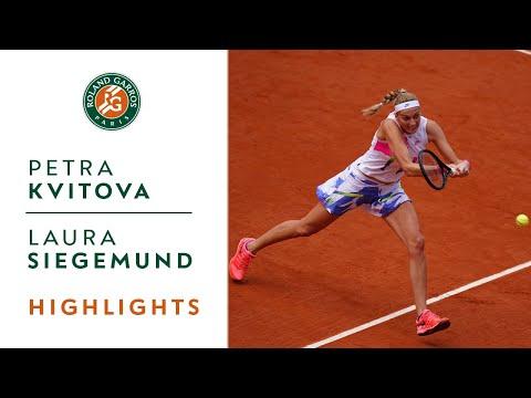 Petra Kvitova vs Laura Siegemund - Quarterfinals Highlights I Roland-Garros 2020