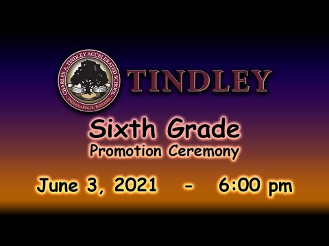 Sixth Grade Promotion Ceremony (Tindley Genesis Academy)