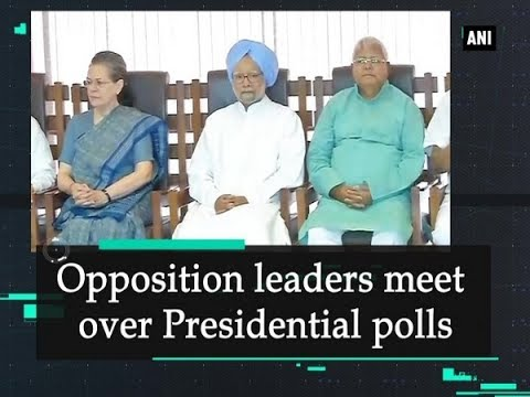 Opposition leaders meet over Presidential polls - New Delhi News