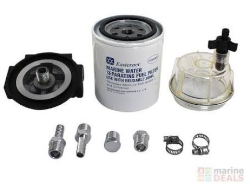 How to Install a Water Separating Fuel Filter on a Boat