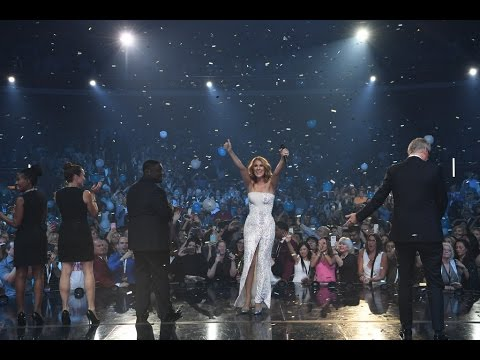 Celine Dion's 1,000th show Inside The Colosseum at Caesars Palace