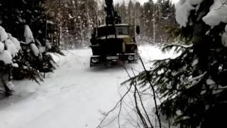 Урал по снегу