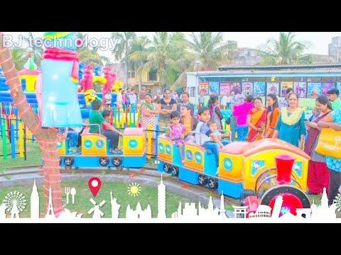 kiddie land fun park kakaria, 7 wonder of amazing ahmedabad, Gujarat tourism, india