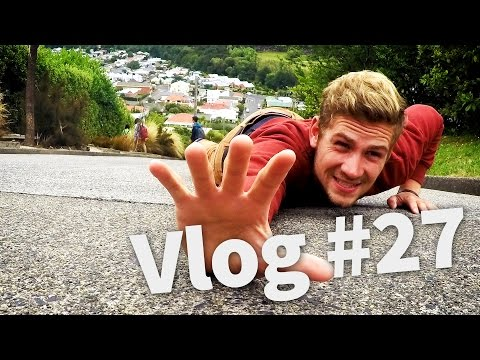 STEEPEST STREET IN THE WORLD - Travel New Zealand - Vlog #27