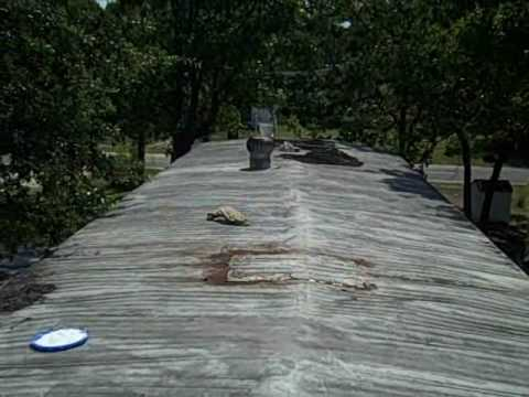 Nc Mobile Home Repair Roof Sealing Leak Brunswick County