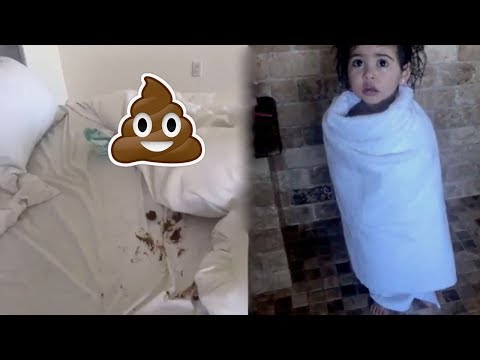 OMG ELLE POOED ON THE BED!! - THE ACE FAMILY