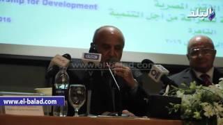 بالفيديو والصور.. رئيس مجلس الدولة: الانتهاء من إعداد قانون استثمار موحد للدول العربية