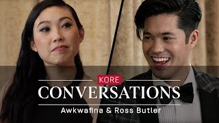 Kore Conversations: Awkwafina and Ross Butler