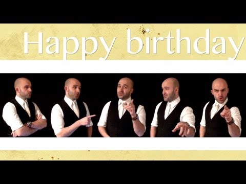 Happy Birthday - A Cappella [sent 400 times]