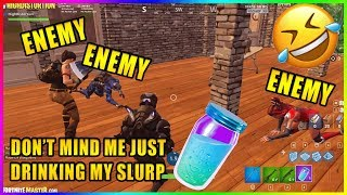 THE ENEMY THINKS HE'S A TEAMMATE?!!  - Fortnite funny Epic & Fail moments #252