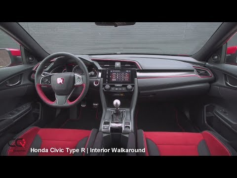 2017/2018 Honda Civic Type R | Interior Review | Part 2/7