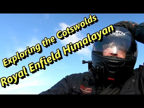 Royal Enfield Himalayan. Rideout To The Cotswolds. Wiltshire Man