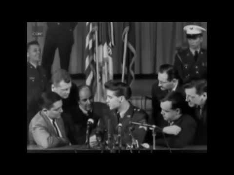Elvis interview; March 3, 1960 - Fort Dix, New Jersey