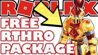 RTHRO IS HERE!! - Free Package Knights of Redcliff: Paladin - How To Set Up Scaling - Roblox Anthro