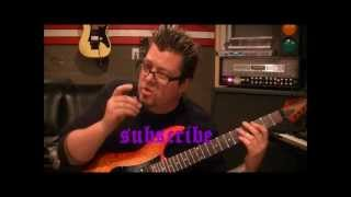How to play Smoke On The Water by Deep Purple on guitar by Mike Gross