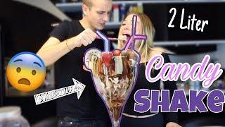 XXXXL 2 Liter Candy Shake - Wer muss ihn austrinken ? 😮